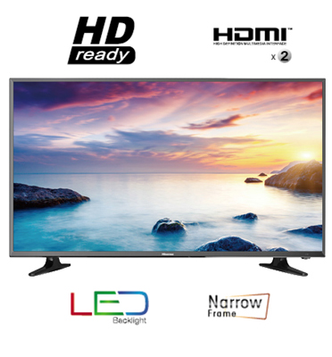 "טלוויזיה מסך ""32 LED HD Ready TV תוצרת HISENSE דגם LEDN32D50"