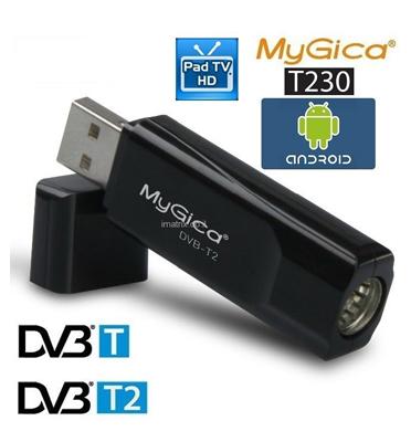 מקלט עידן פלוס באיכות HD לאנדרואיד כולל סטרימרים ו TV BOXES – דגם DVBT2 T230