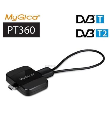 מיני מקלט עידן פלוס באיכות HD לסמארטפון וטאבלט אנדרואיד מבית MyGica דגם PT360