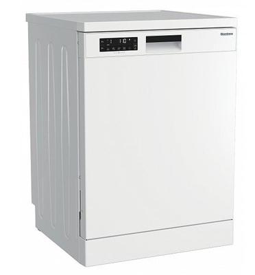 מדיח כלים רחב אלקטרוני ל-13 מערכות כלים צבע לבן תוצרת Blomberg דגם GSN210P8W דגם חדש