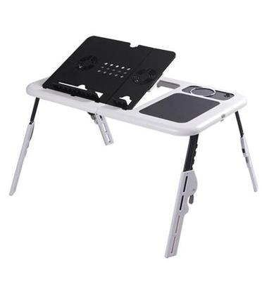 שולחן לפטופ מתקפל ונייד בעל משטח קירור עם 2 מאווררי USB מבית ILIKE