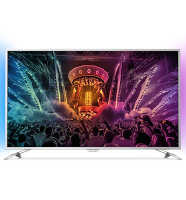 "טלוויזיה 43"" LED 4K SMART ANDROID כולל עידן+ .תוצרת PHILIPS דגם 43PUS6501"