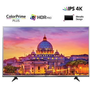 """טלוויזיה 55"""" LED Smart TV 4K Ultra HD אינדקס עיבוד תמונה 1200PMI תוצרת LG דגם 55UH617Y"""