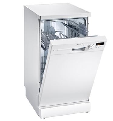 """מדיח כלים צר 45 ס""""מ speedMatic צבע לבן תוצרת SIEMENS דגם SR25E204EU"""
