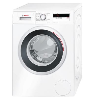 """מכונת כביסה פתח חזית 7 ק""""ג 1000 סל""""ד בעיצוב חדש! תוצרת BOSCH דגם WAN20050IL יבואן רשמי!"""
