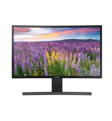 """מסך מחשב 23.5"""" מקצועי קעור תוצרת SAMSUNG דגם S24E510C-תצוגה"""