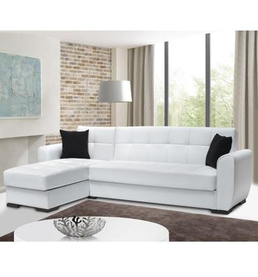 ספה פינתית ענקית ברוחב 2.70 מ', נפתחת למיטה עם ארגזי מצעים מבית רהיטי דפנה דגם אלון