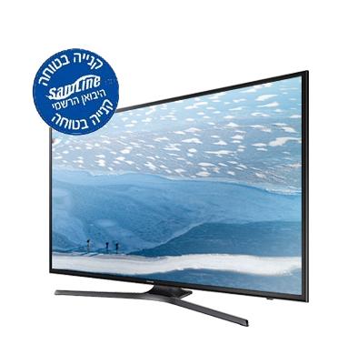 """טלוויזיה 40"""" 4K SMART TV SLIM LED תוצרת SAMSUNG דגם UE40KU7000"""