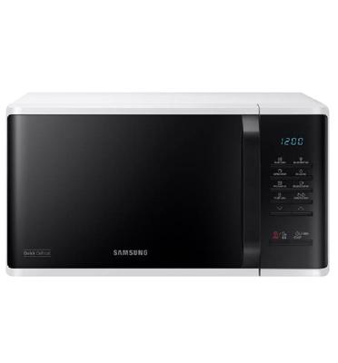 מיקרוגל שף 23 ליטר 800W מבית SAMSUNG דגם MS23K3513AW- בגימור לבן