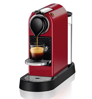 מכונת קפה Nespresso  סיטיז בצבע אדום דגם C112