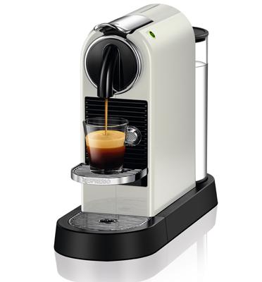 מכונת קפה Nespresso  סיטיז בצבע לבן דגם D112