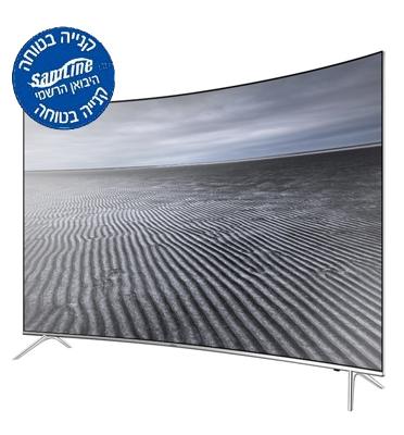 """טלוויזיה קעורה 49"""" 4K SMART TV SLIM LED תוצרת SAMSUNG דגם UE49KS8500"""