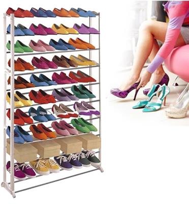 מעמד נעליים שיעשה לכם סדר בחיים ובחדר השינה... 10 שלבים עד 50 זוגות נעליים מבית HOMAX