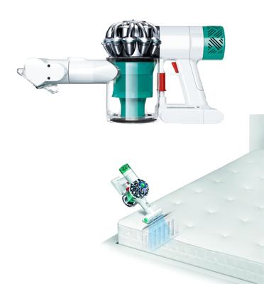 שואב אבק אלחוטי ידני למזרנים וספות ללא כבל מבית DYSON דגם V6 mattress