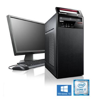 מחשב נייח מקצועי מסדרת ה-ThinkCentreהאיכותית של LENOVO עם מעבד Intel Core i7 דגם 10D-12G-8W10