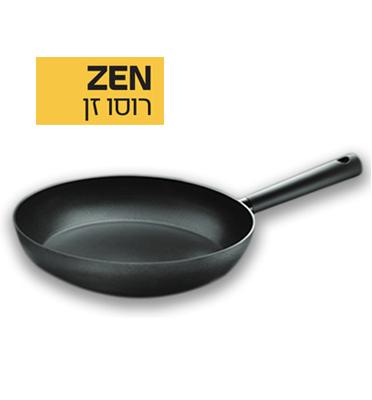 """מחבת 30 ס""""מ מסדרת ZEN עם תחתית אינדוקציה מלאה לפיזור חום מקסימלי מבית ROSO דגם 760030"""