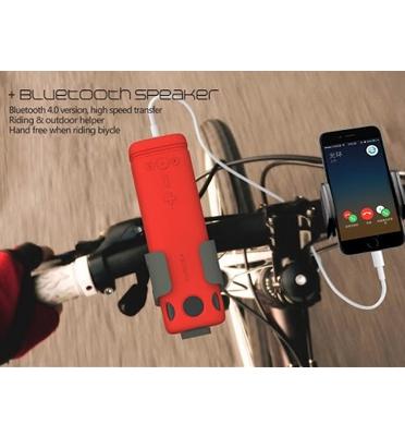 """רמקול Bluetooth שטח מהפכני """"הכל באחד"""" מבית PURIDEA דגם I2"""