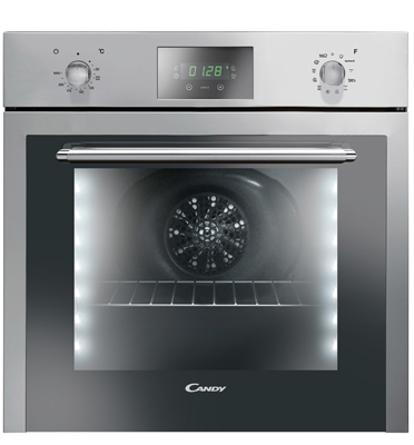 תנור אפייה בנוי נירוסטה 11 תוכניות מסדרת ELITE בעיצוב יוקרתי מבית CANDY דגם FVET929X