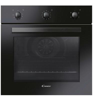 תנור בנוי 7 תוכניות תא אפייה 65 ליטר בצבע שחור מבית CANDY דגם FPE602/6N