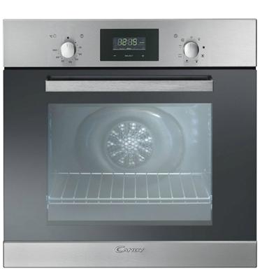 תנור בנוי 8 תוכניות תא אפייה 65 ליטר בצבע נירוסטה מבית CANDY בנוי דגם FPE609/6X