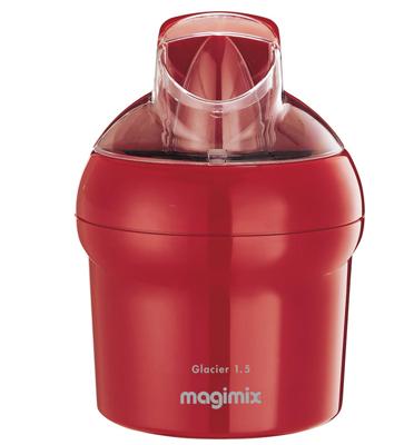 מכין גלידה בעל דפנות מבודדות השומרות על טמפרטורת המרכיבים תוצרת MAGIMIX דגם LE GLACIER
