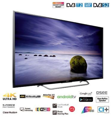 "טלוויזיה 55"" 4K ULTRA HD HDR Android TV תוצרת SONY דגם KD-55XD7005BAEP"
