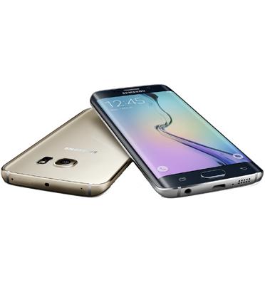 """סמארטפון בעל מסך 5.1"""" עם הקימור המיוחד של סמסונג כולל שנה אחריות! דגם S6 EDGE - מחודש!"""