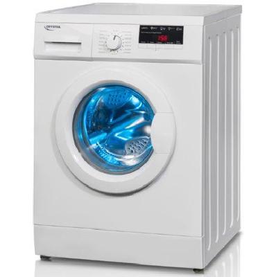 """מכונת כביסה פתח חזית 7 ק""""ג 1200 סל""""ד תוצרת Crystal. דגם CRM7200"""