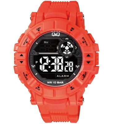 שעון יד דיגיטלי לגבר עמיד במים עד 100 מטר מבית Q&Q דגם QS-M152J004Y