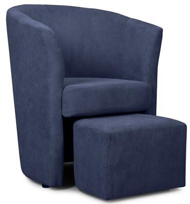 כורסא מעוצבת עם הדום ריפוד בד קטיפתי במגוון צבעים מרהיבים מבית BRADEX דגם DJERBA