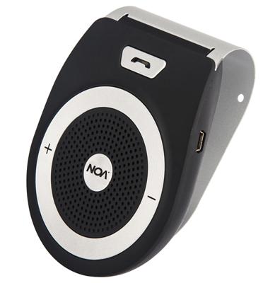 דיבורית בלוטוס לרכב בעיצוב חדשני ואפשרות חיבור לשני מכשירים מבית Noa דגם Noa 10