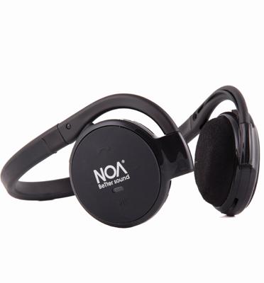 אוזניות בלוטוס ספורט סטריאופוניות + רדיו כולל מיקרופון, קלות משקל מבית Noa דגם Noa 888
