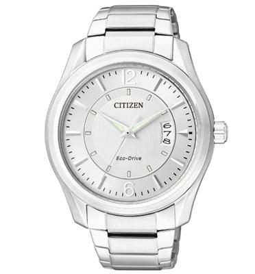 שעון יד לגבר עם טעינה סולארית ECO DRIVE ללא צורך בסוללה מבית CITIZEN דגם CI-AW103050B