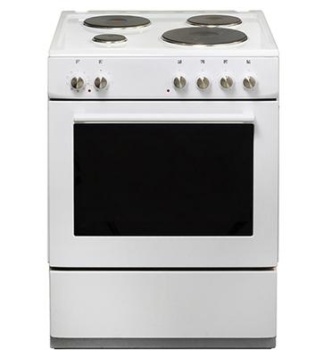 תנור אפיה משולב כיריים חשמליות בנפח 65 ליטר 4 מבערים Voxson דגם 656MS