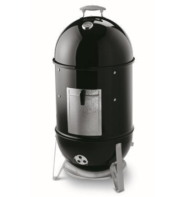 """מעשנת מקצועית שטח צלייה 47 ס""""מ 2 קומות צלייה מבית Weber דגם Weber Smokey Mountain 47cm"""