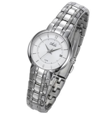 שעון יד לאישה עשוי פלדת אל חלד ועמיד במים 50M מבית ADI דגם 21-3052-183