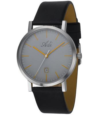 שעון לגבר עשוי פלדת אל חלד ועמיד במים מבית ADI דגם 15-30035-151