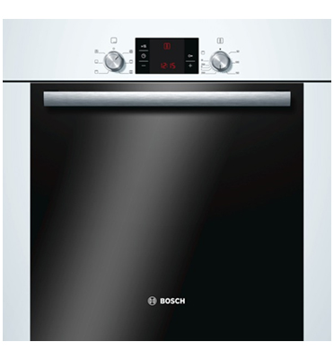 תנור אפייה בנוי טאצ' תצוגה דיגיטלית בצבע לבן הדור החדש תוצרת BOSCH דגם HBA23B220Y