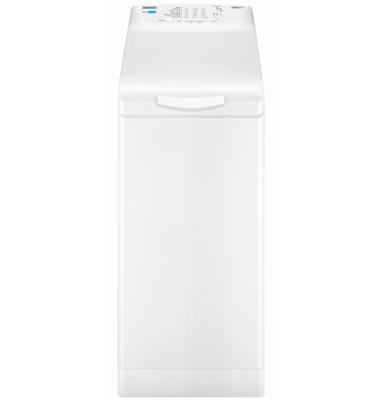 """מכונת כביסה פתח עליון 5.5 ק""""ג 1000 סל""""ד תוצרת ZANUSSI דגם ZWY51004WA"""