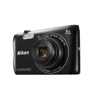 מצלמה דיגיטלית קומפקטית 20.1MP מבית NIKON דגם COOLPIX A300