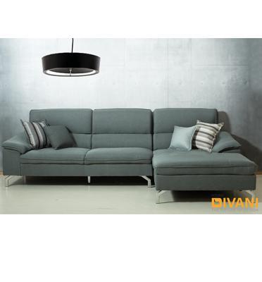 מערכת ישיבה פינתית ריפוד בד מעוצבת בסגנון מודרני עכשווי מבית Vitorio Divani דגם מרסיאלה