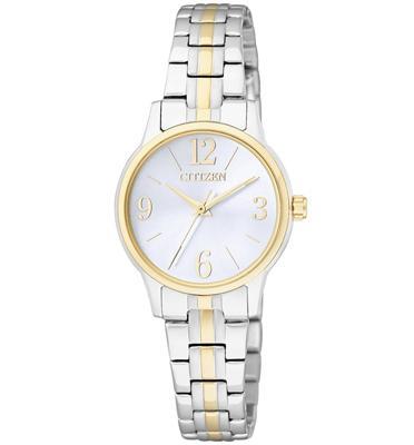 שעון יד אלגנטי לאישה עשוי פלדת אל חלד ועמיד במים מבית CITIZEN דגם CI-EX029458H