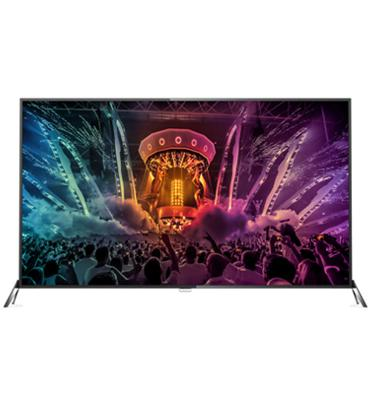 "טלוויזיה 65"" LED - 4K Ultra HD תוצרת PHILIPS דגם 65PUS6121"