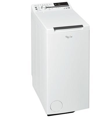 """מכונת כביסה פתח עליון 7 ק""""ג 1200 סל""""ד בטכנולוגית """"החוש השישי"""" תוצרת Whirlpool דגם TDLR 70230"""