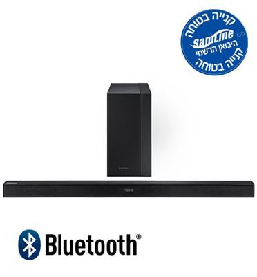 """מקרן קול אלחוטי 300W Bluetooth + סאב ואפר אלחוטי עוצמתי במיוחד """"6.5 מבית SAMSUNG דגם HW-K450"""