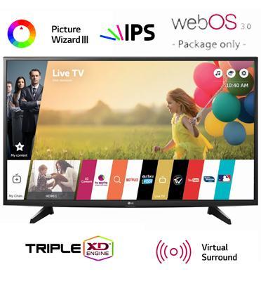 """טלוויזיה 32"""" LED Smart TV ,פנל IPS, אינדקס עיבוד תמונה 450PMI תוצרת LG דגם 32LH592Z"""
