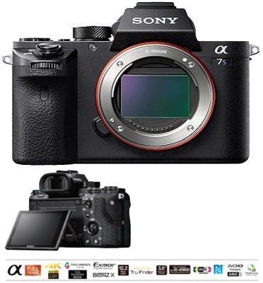 """מצלמת סטילס ללא מראה Full Frame 35 מ""""מ מסדרת אלפה בגוף עשויי מגנזיום מבית SONY דגם ILC-E7SM2B"""