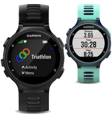 שעון טריאתלון GPS עם מאפיינים של מולטי ספורט ומד דופק מובנה מבית Garmin דגם FR735XT