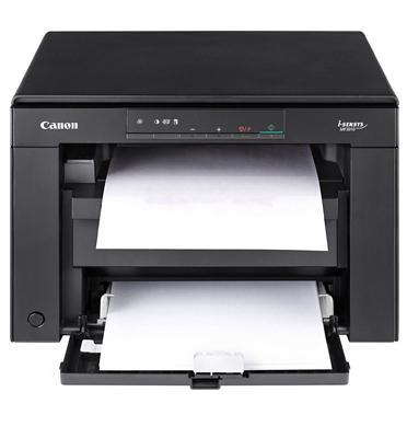 מדפסת משולבת שחור לבן, כוללת מכונת צילום וסורק. תוצרת CANON דגם i-SENSYS MF3010