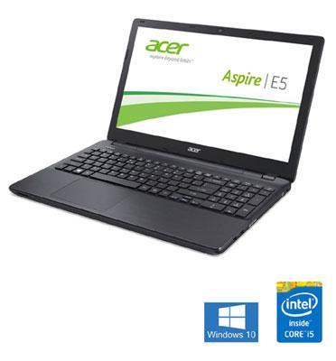 """מחשב נייד מסך 15.6"""" 4GB ,מעבד Intel Core i5 תוצרת Acer דגם E5-571-034"""